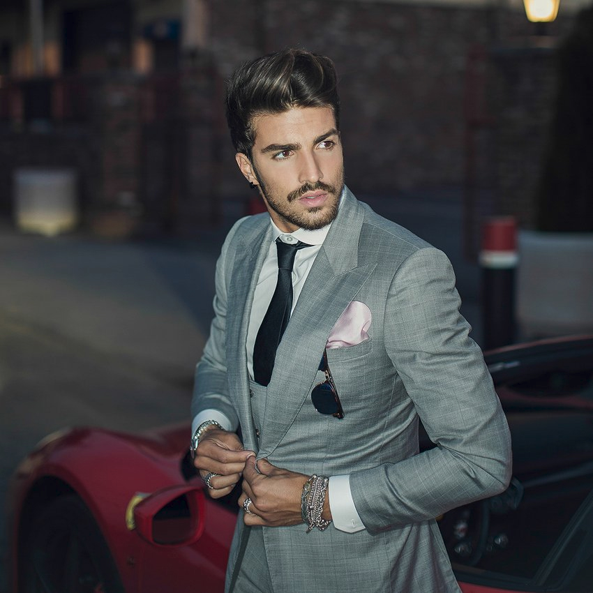 Mariano Di Vaio Men's Short Hairstyle