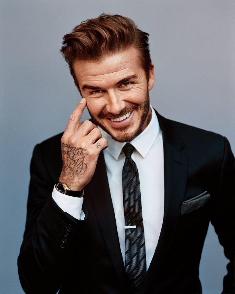David Beckham Men's Short Hairstyles