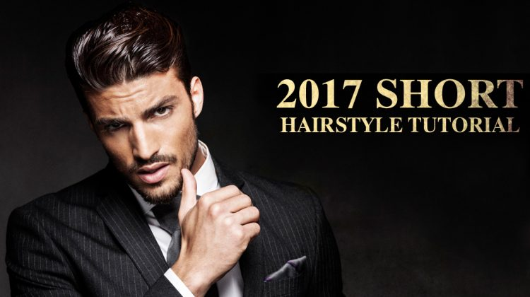 Men's Short Hairstyles 2017: How to Style an Undercut in 5 Steps